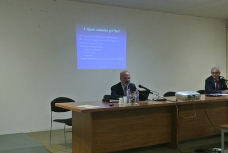 Prof. Sergio Cicatelli e Prof. Franco Marini