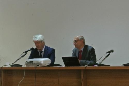 Direttore Ufficio Scolastico Regione Marche Dott. Marco Ugo Filisetti e Prof. Franco Marini