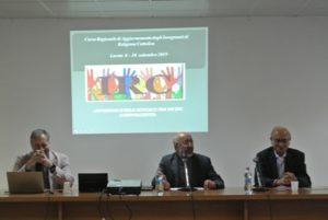 Prof. Andrea Porcarelli, S.E. Mons. Nazzareno Marconi e Prof. Franco Marini
