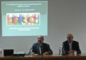S.E. Mons. Nazzareno Marconi e Prof. Franco Marini
