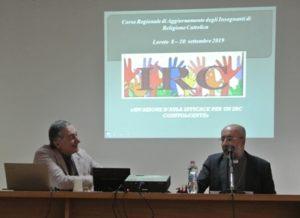 Prof. Andrea Porcarelli e S.E. Mons. Nazzareno Marconi